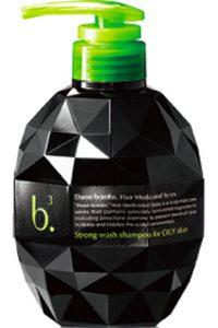 スリーボム薬用ストロングウォッシュシャンプー(脂性肌)商品画像